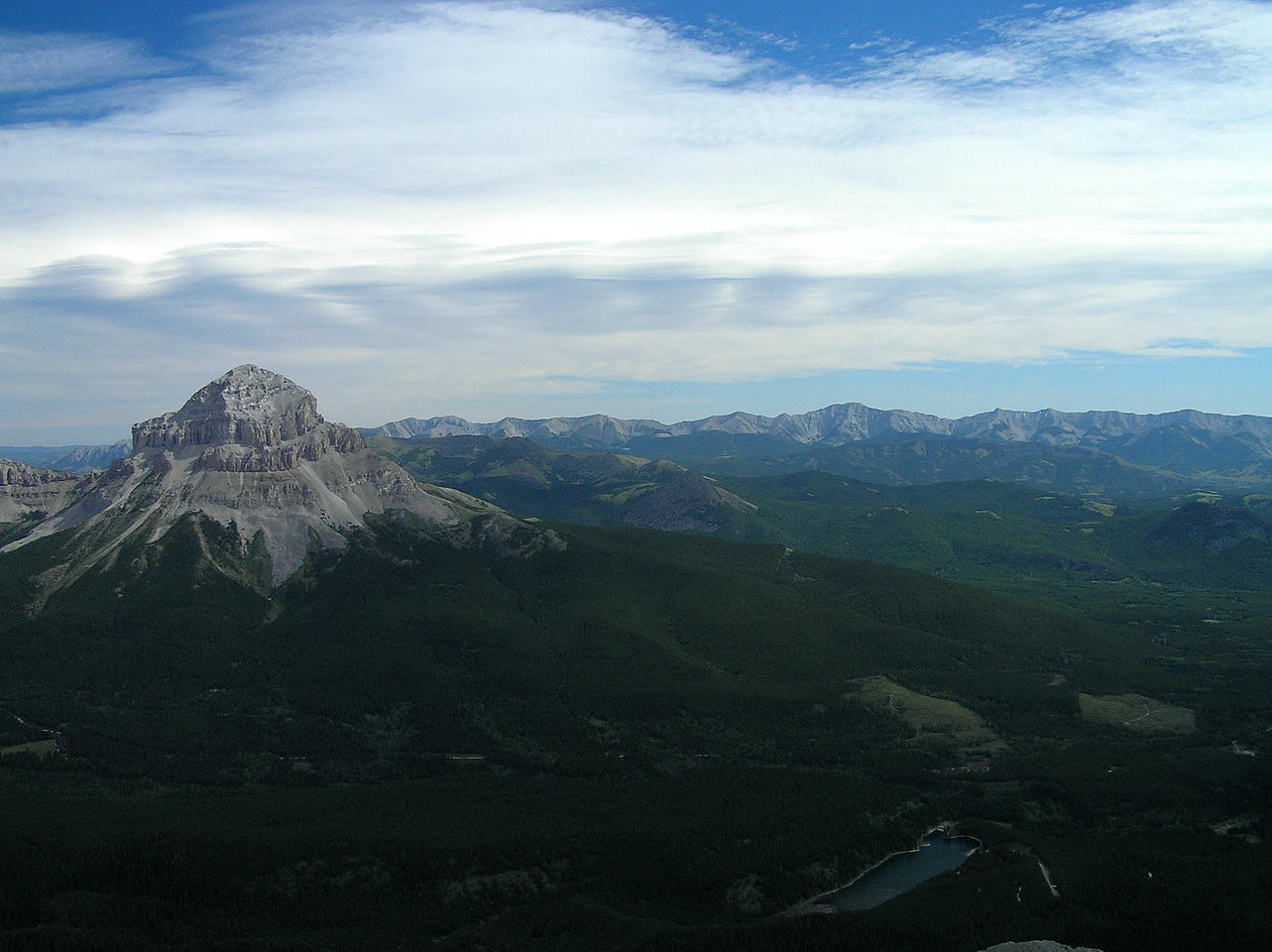 Crowsnest Mountain.