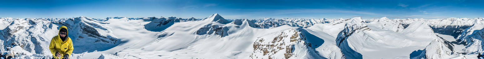 I've been on a LOT of peaks in this photo. Many great memories as I peer across the ocean of ice and snow and rock.