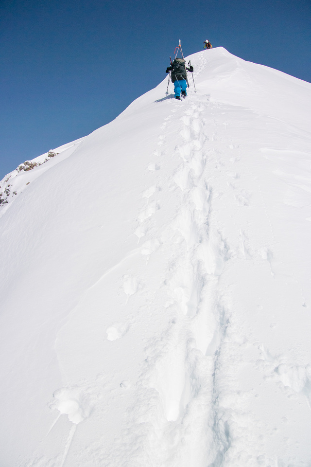 Bootpacking the south ridge.
