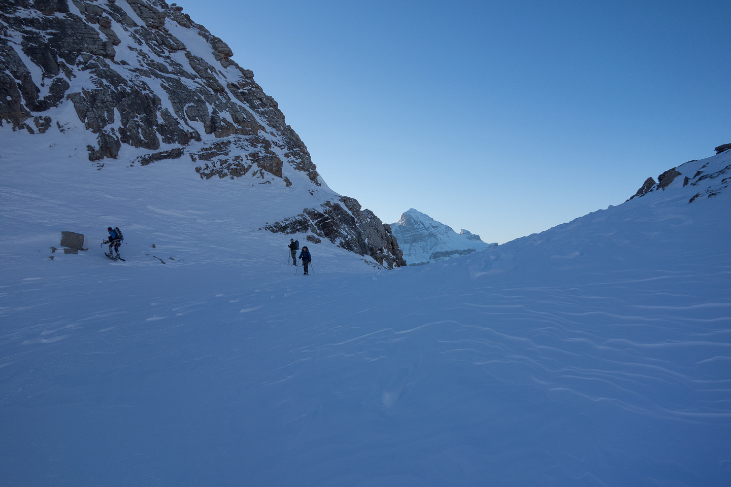 Almost at the col.