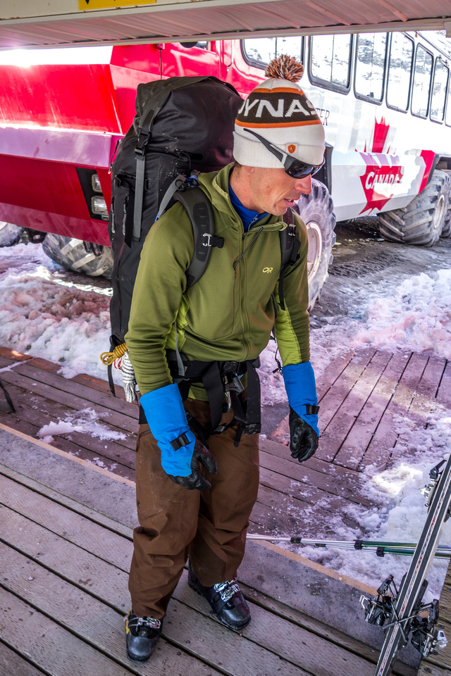 TJ is ready for another go at the northern Columbia Icefields peaks!