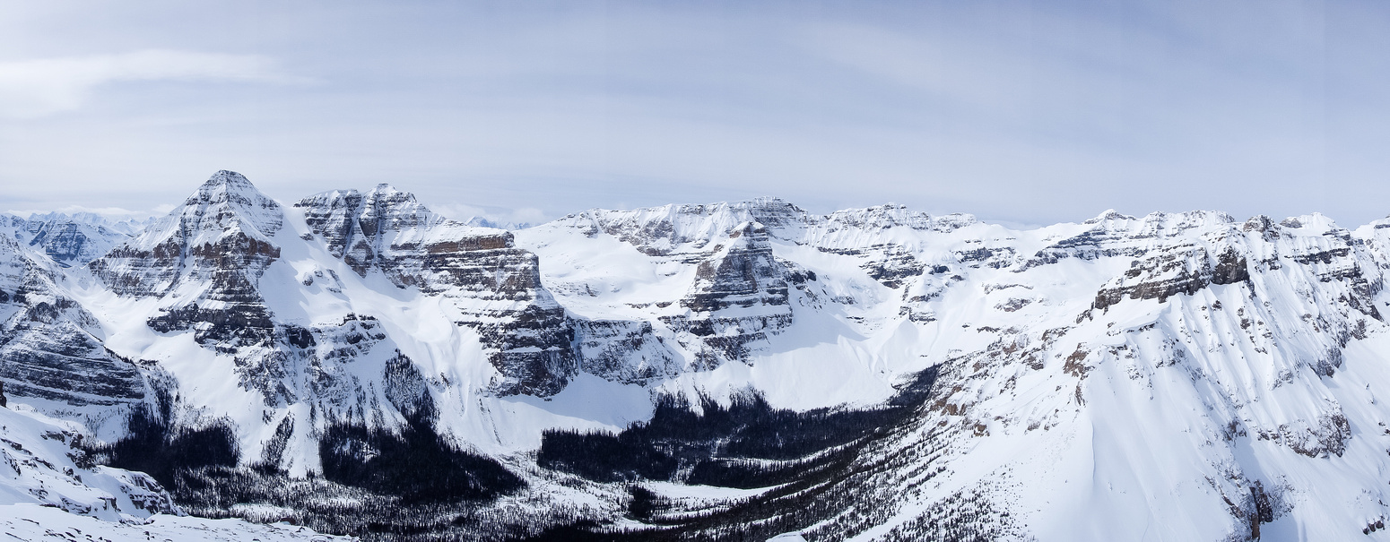 The Chickadee Valley is nestled between some gorgeous peaks - most of them unnamed believe it or not.