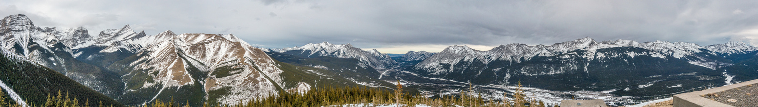 Ribbon, Bogart, Wind, Allan, Olympic, Lorette, Baldy, Wasootch, Kananaskis, Old Baldy, McDougall and Volcano Peak.