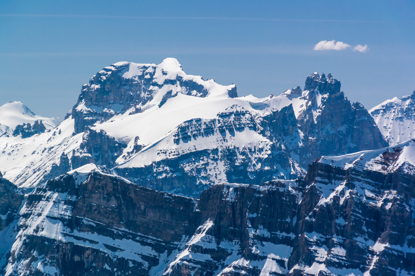 Yet another favorite in the area (I love Yoho...) - Cathedral Mountain.