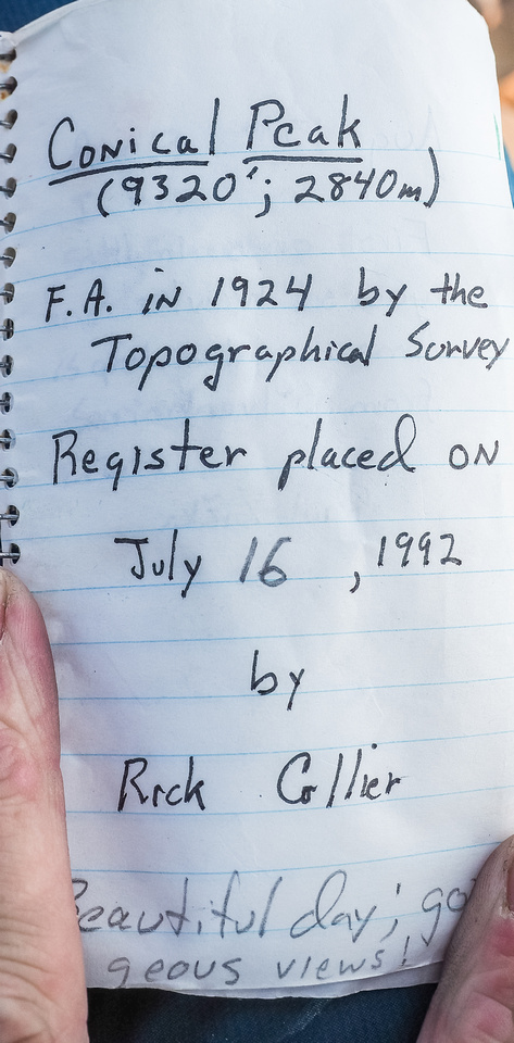A Rick Collier register.