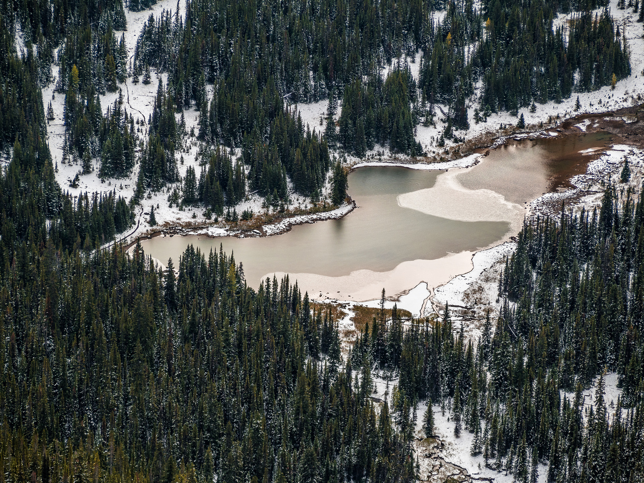 One of the Cathedral Lakes (there's four of them).