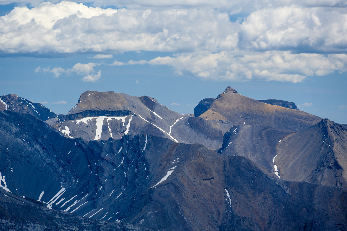 Astral (L) and Castle Rock Peak (R).