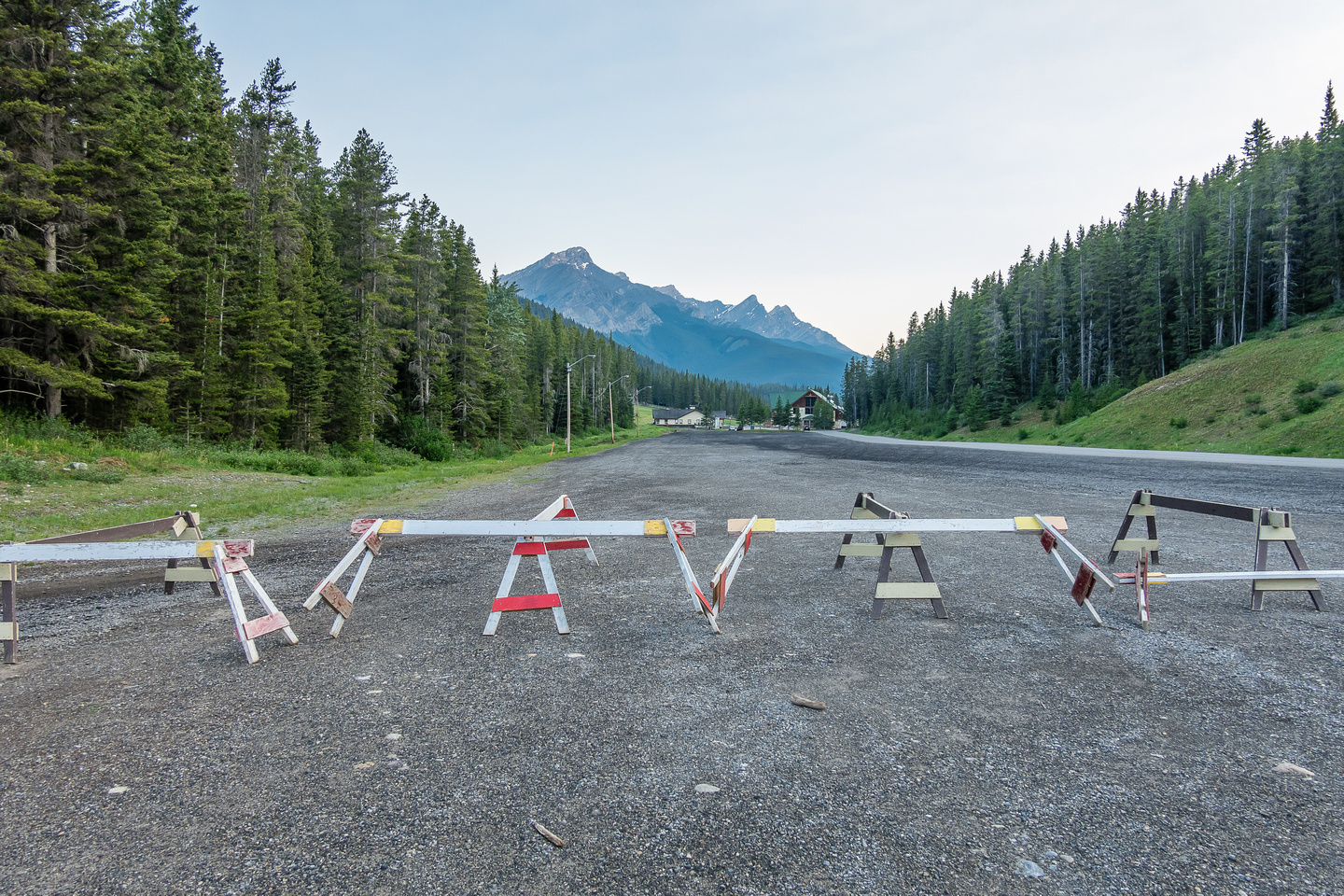 For some reason the Norquay ski resort feels we should add a few hundred meters of distance...