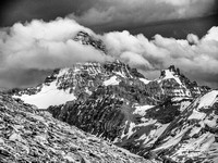 As we ascended and slowly made our way further south along the ridge, Mount Assiniboine finally came into full view granting us some wild scenes.