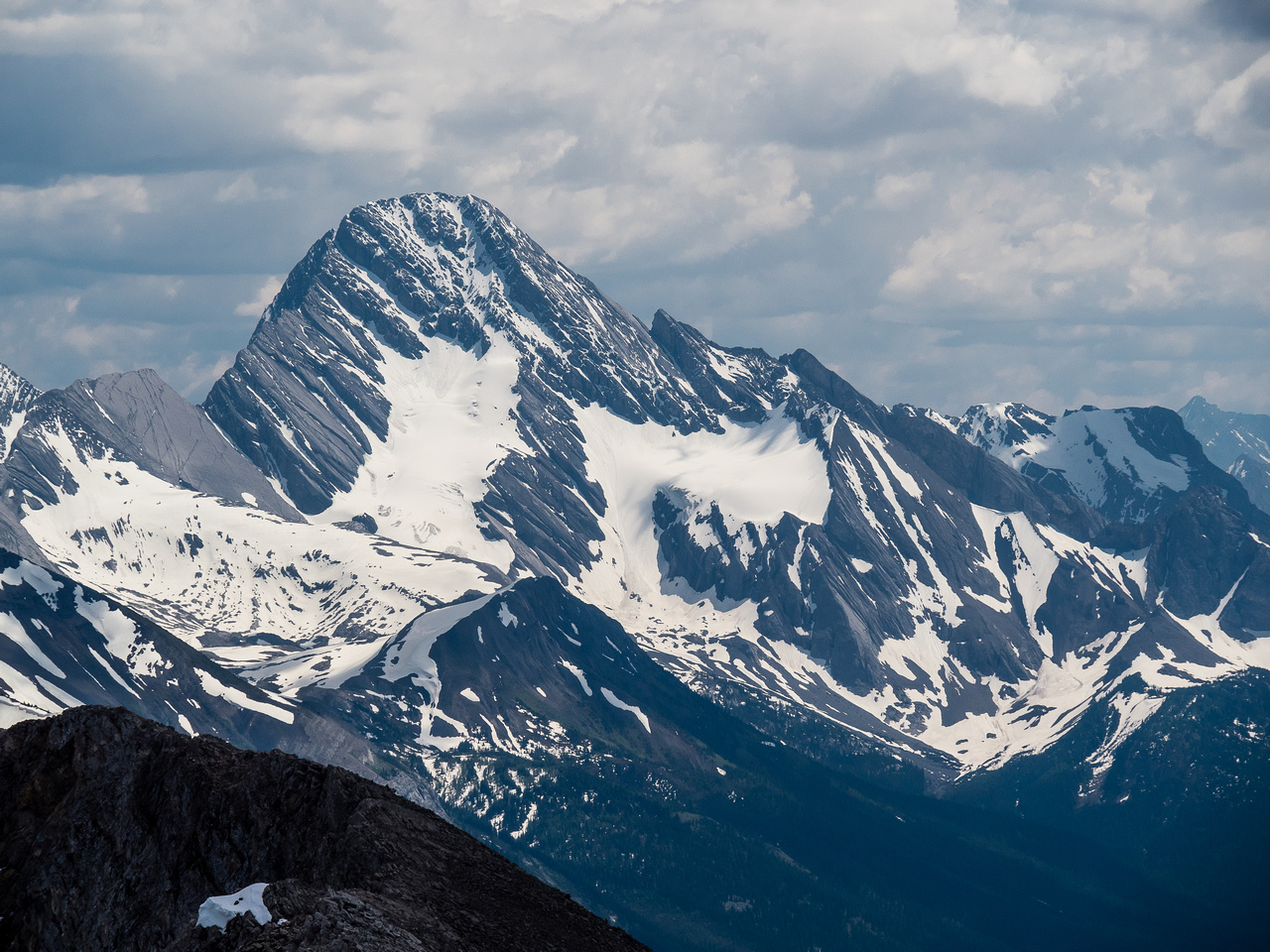 Mount Sir Douglas brings a smile to my face. What an adventure that peak was!
