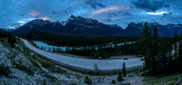 Very early morning - around 05:30 - as I look back over hwy 11 and the Whirlpool Point viewpoint.