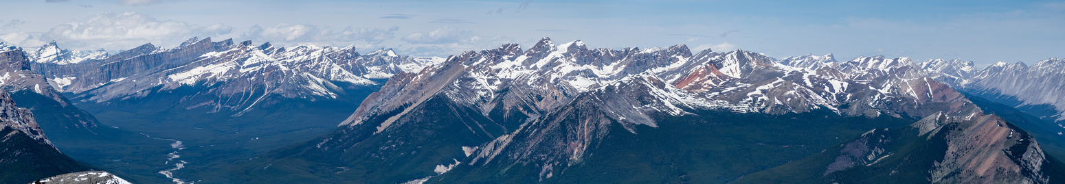 Cloister Mountains and White Goat Wilderness at left, including Mount Stewart. The First Range at center and right.