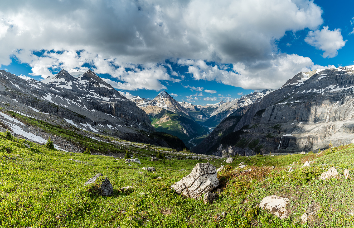 Gorgeous 'little' corner of the Canadian Rockies that sees very few human feet each year.