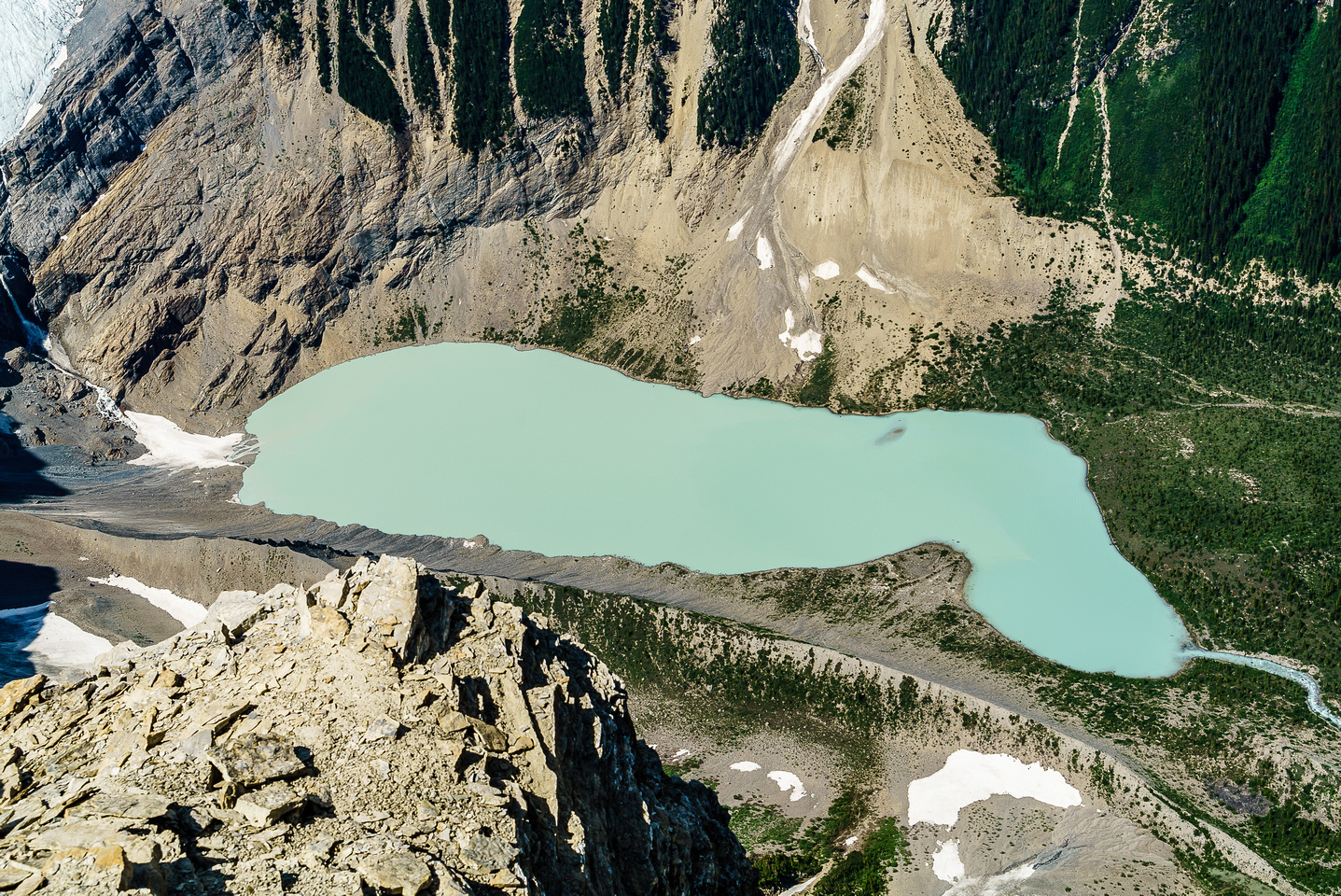 I can't think of a lovelier, more hidden lake than Arctomys. I doubt too many folks have dipped their toes in her waters.