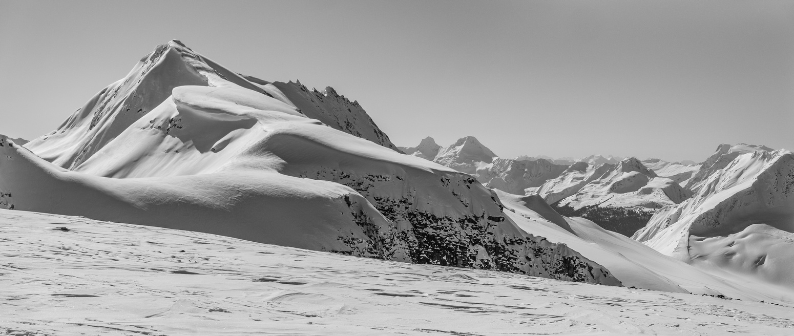 Gorgeous Youngs Peak from the Illy Glacier.