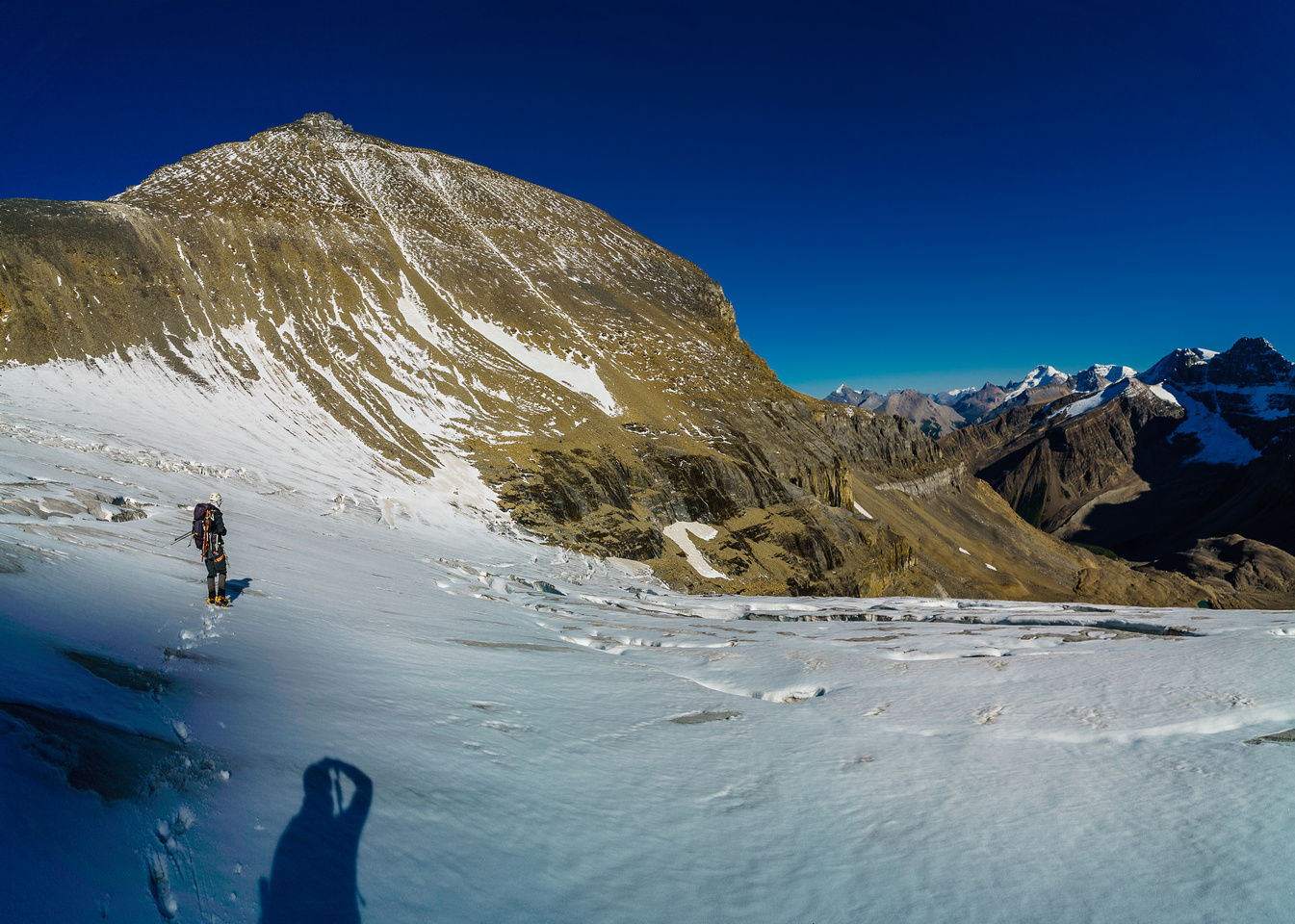 Believe it or not, we have over 500 vertical meters from here to the summit.