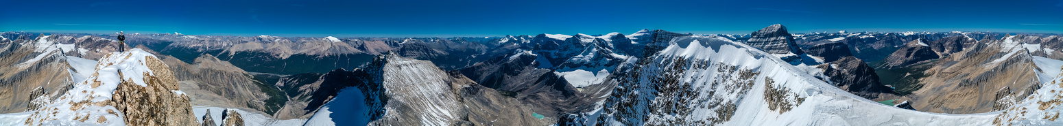 Now that is a summit panorama!!