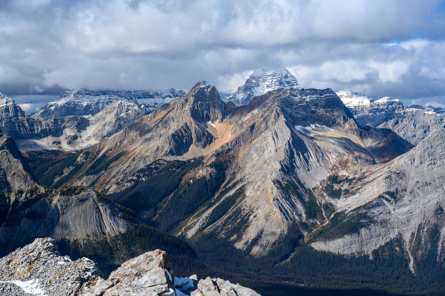 Mount Byng and Assiniboine.