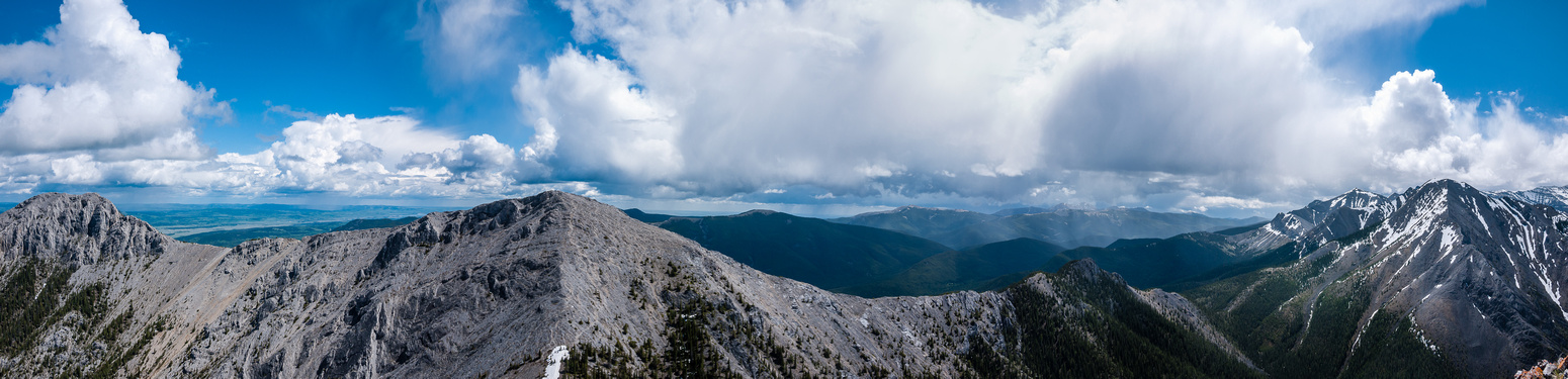 Baldy at left, part of Boundary / Midday at right.