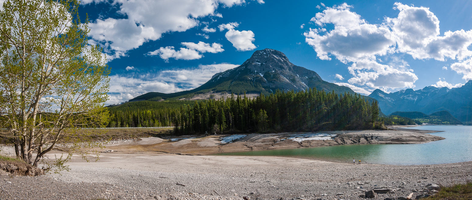 Sweet views of Baldy and Barrier Lake and very few people - which is very rare at this location close to Calgary.