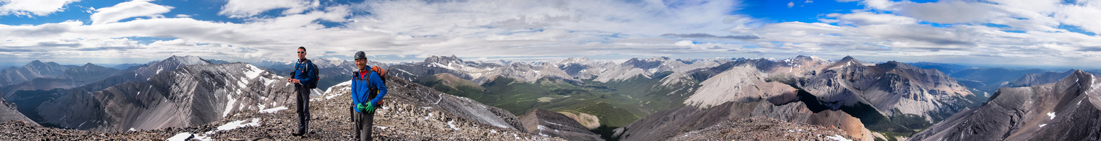 A great summit panorama!