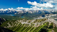 Gorgeous views back over King Creek Ridge to the Kananaskis Lakes.