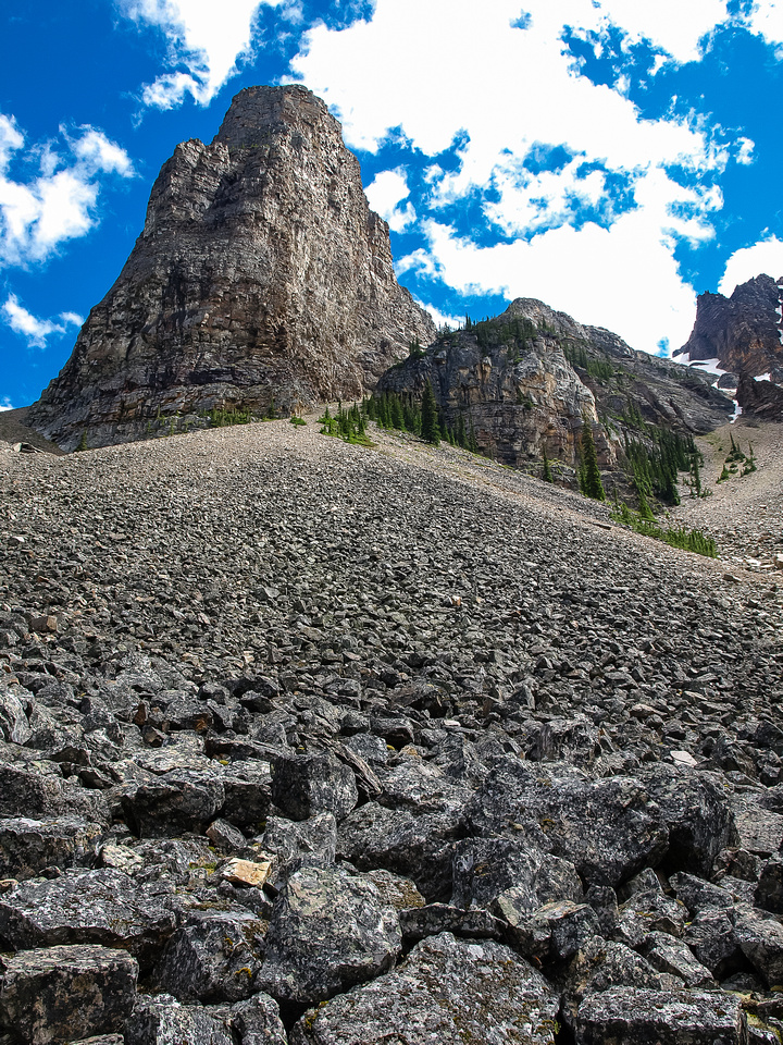 Tower of Babel as seen from just off the Consolation Lakes trail.