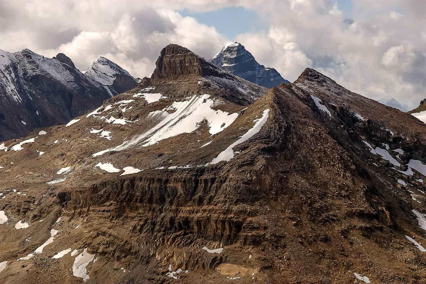 All three summits of Mount Kerr are obvious in this picture. I've been on all of them. Some of them twice... ;-)