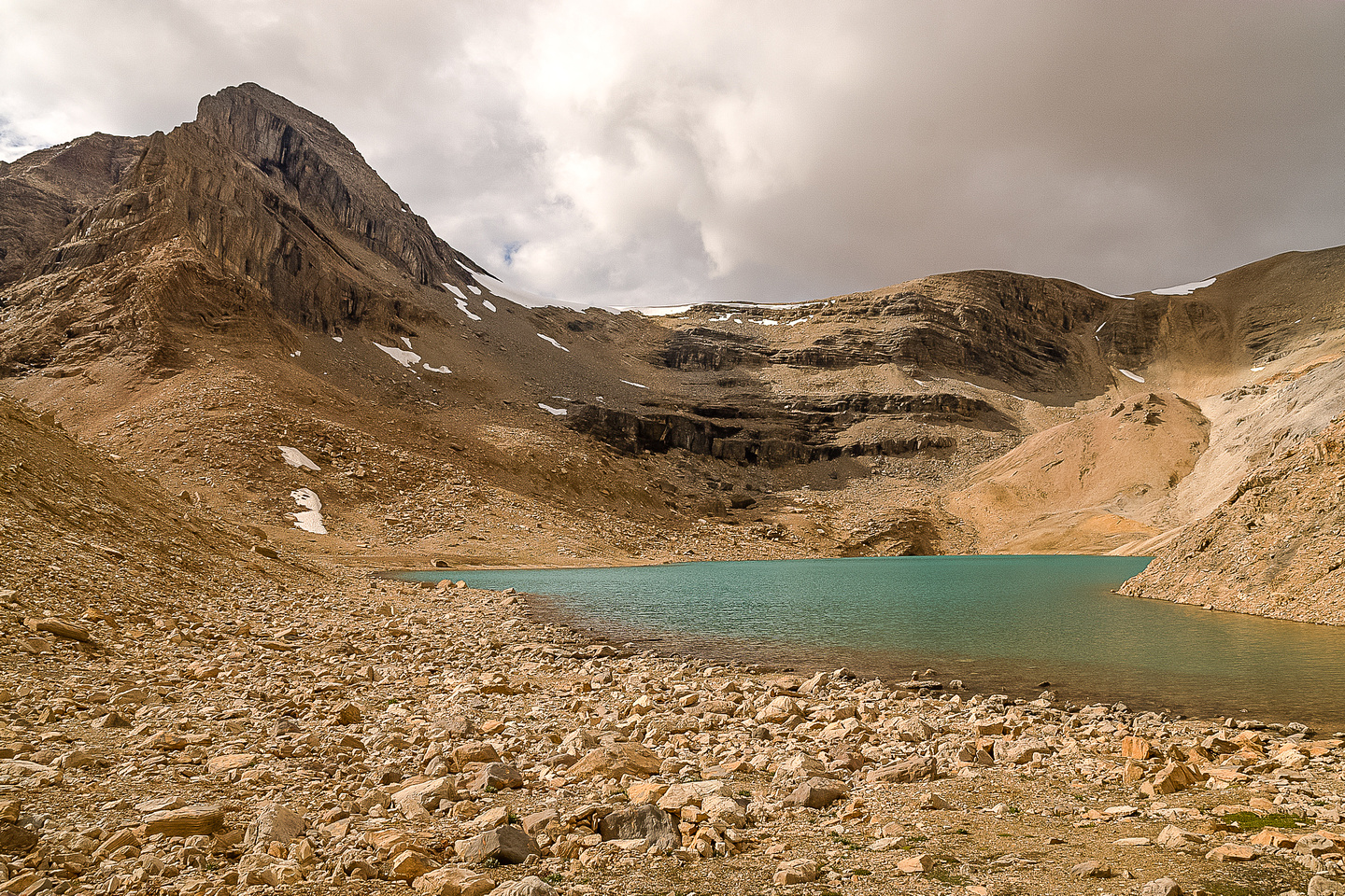 Kiwetinok Lake is the highest named lake in Canada. It's also quite probably the coldest.