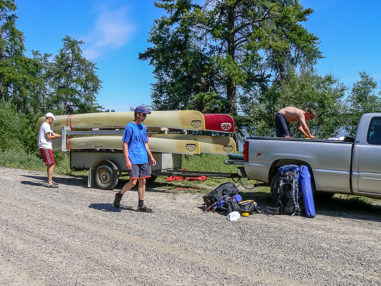 Another canoe trip comes to an end.