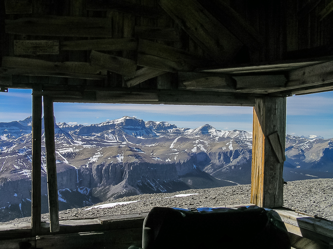 Views from the summit shack.
