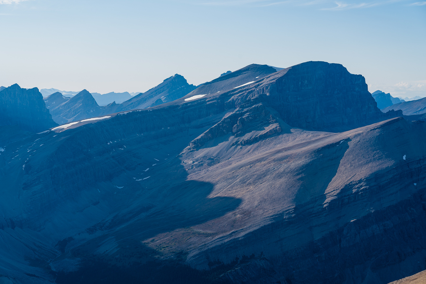 Mount Harris with Augusta at left.