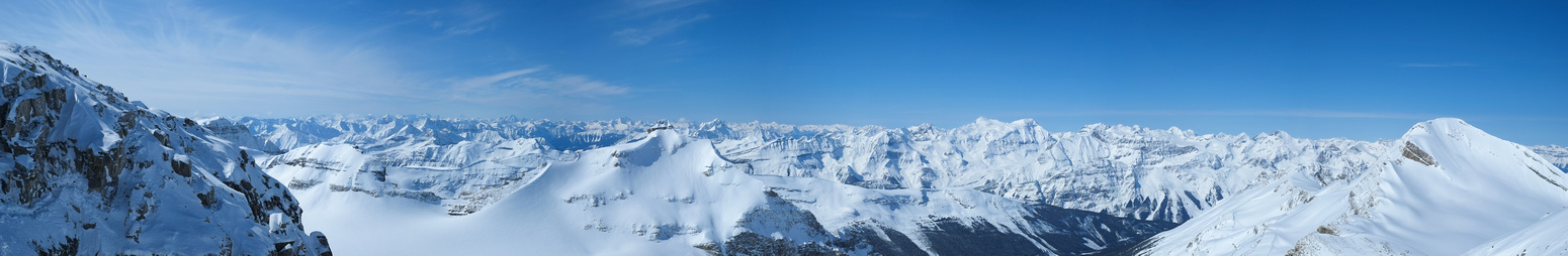 Our crux on the left, Ayesha in the center and Baker on the right. Mummery and many other peaks in between!