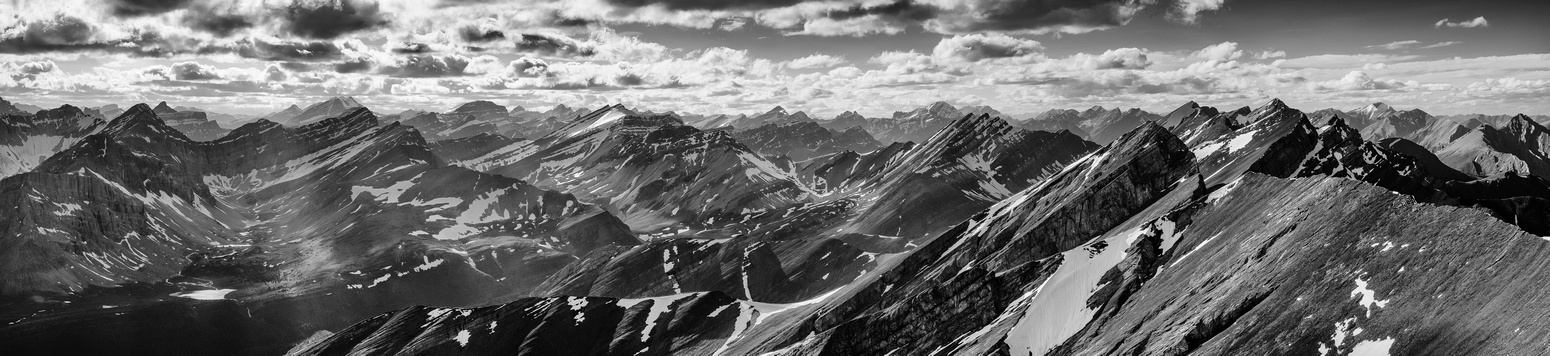 Stunning view of Willingdon, Harris, Augusta, Icefall, Mamen and others.