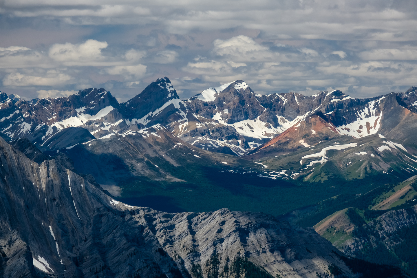 """This could be """"Cornice Peak"""" at 10,400'."""