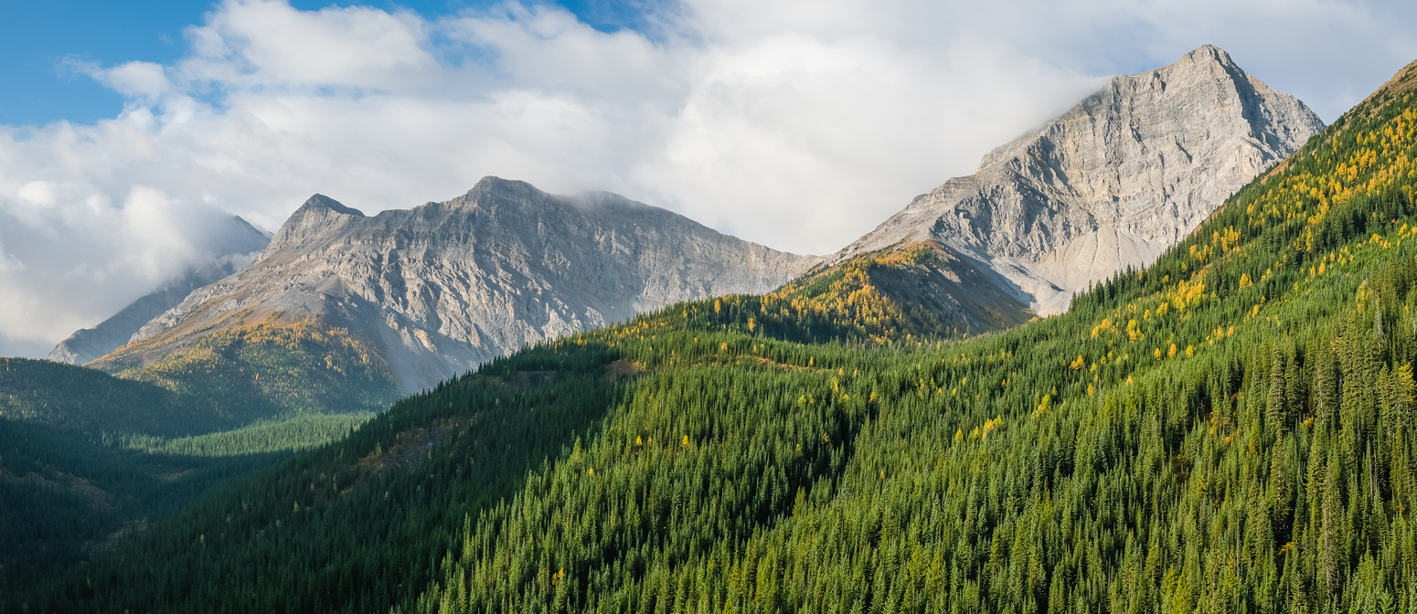 Horned Mountain (L) and Bishop (R).