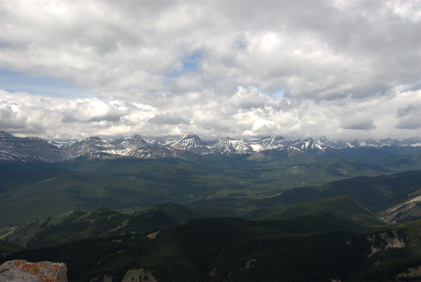 Views towards the High Rock Range.