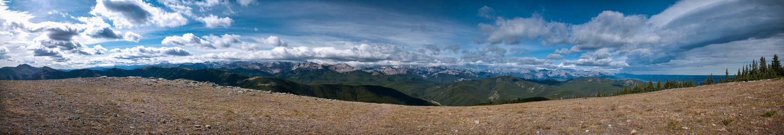 Summit panorama.