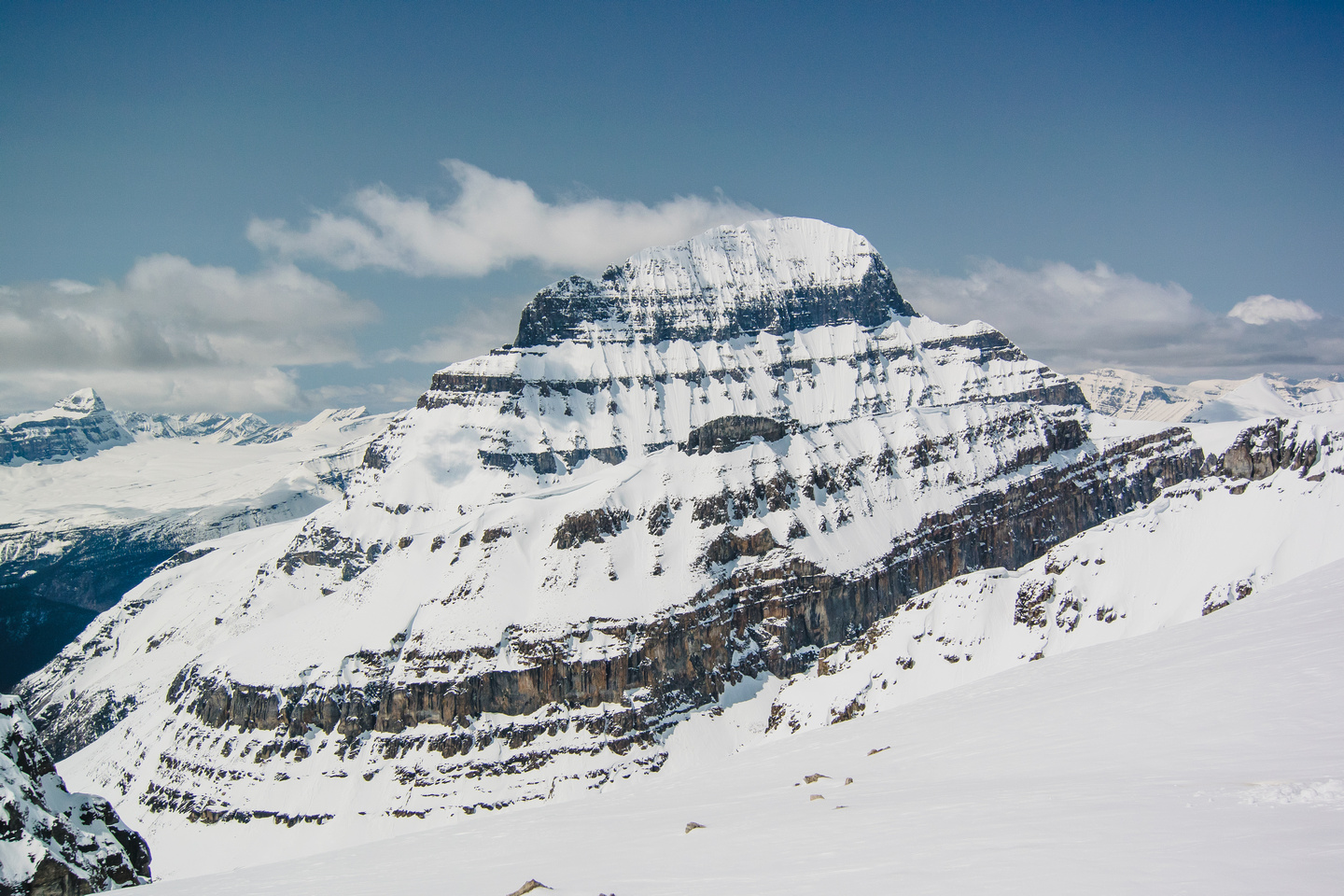 Mighty (loose!) Mount Alberta.