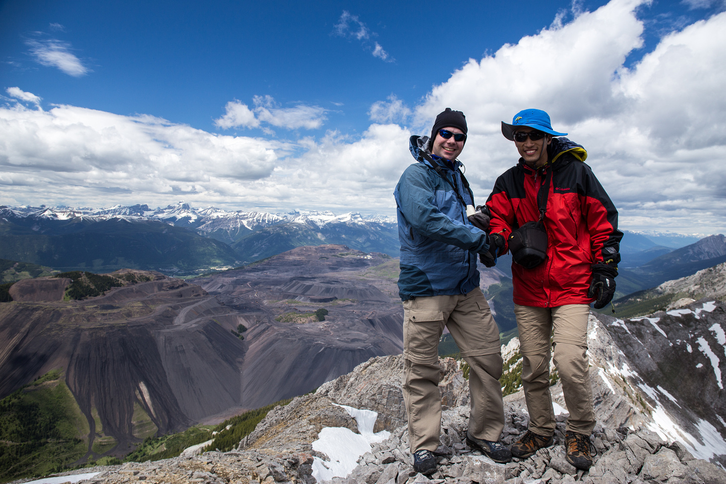 This was Wietse and Steven's 200th summit. The only difference is that Wietse took 10 years and Steven took 10 months... :)
