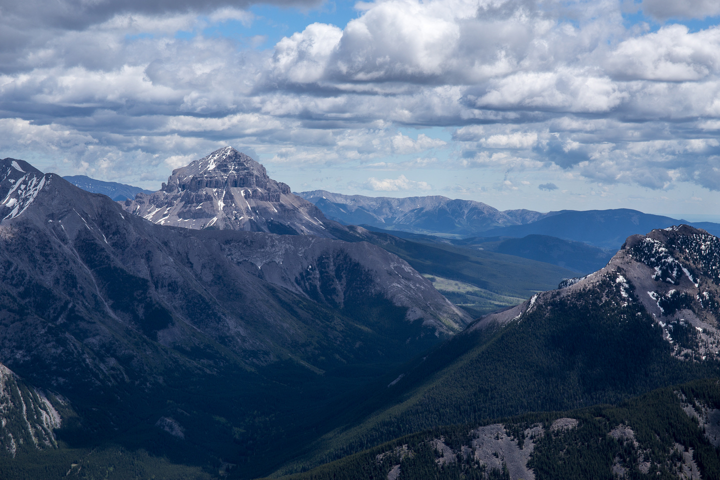 Telephoto of Crowsnest.