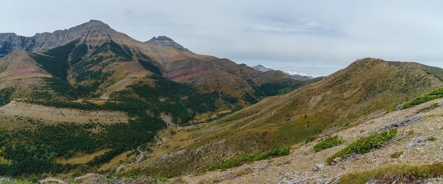 The colors in Waterton are always a treat. This is looking towards Dungarvon.