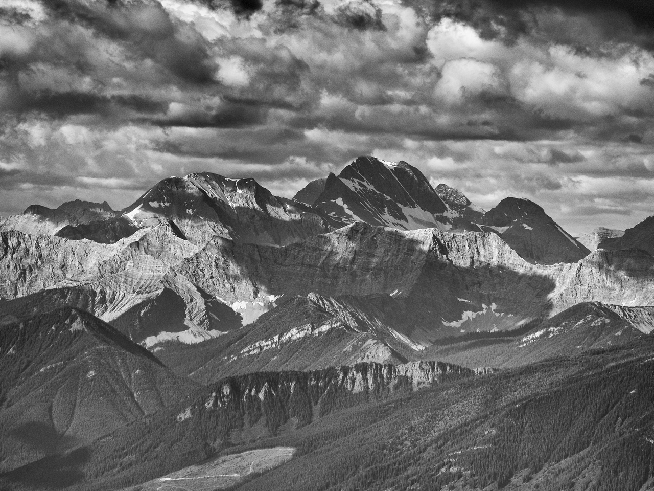 Mount Harrison - the southernmost 11,000er in the Canadian Rockies.