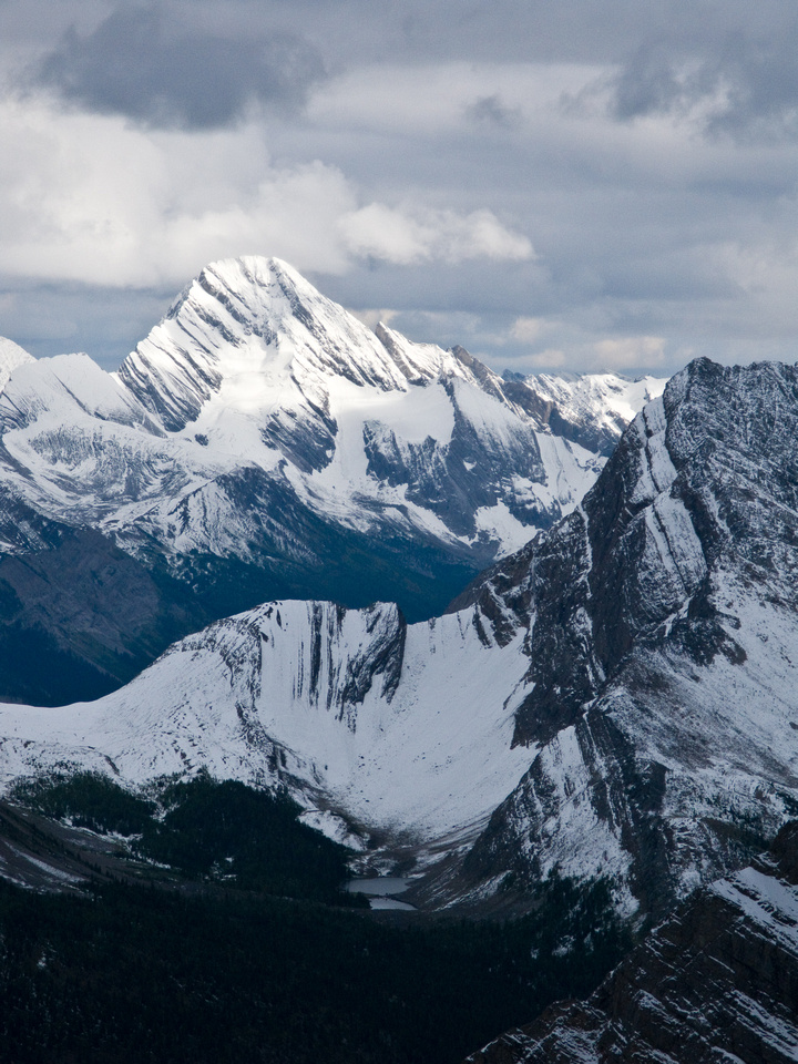 Mount Sir Douglas in Kananaskis Country.