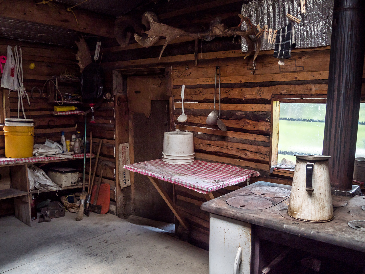 "There is a certain homestead ""charm"" here which harkens back to a previous time but when the mosquitoes and flies start coming through the door at night, the ""charm"" disappears pretty quickly and is r"