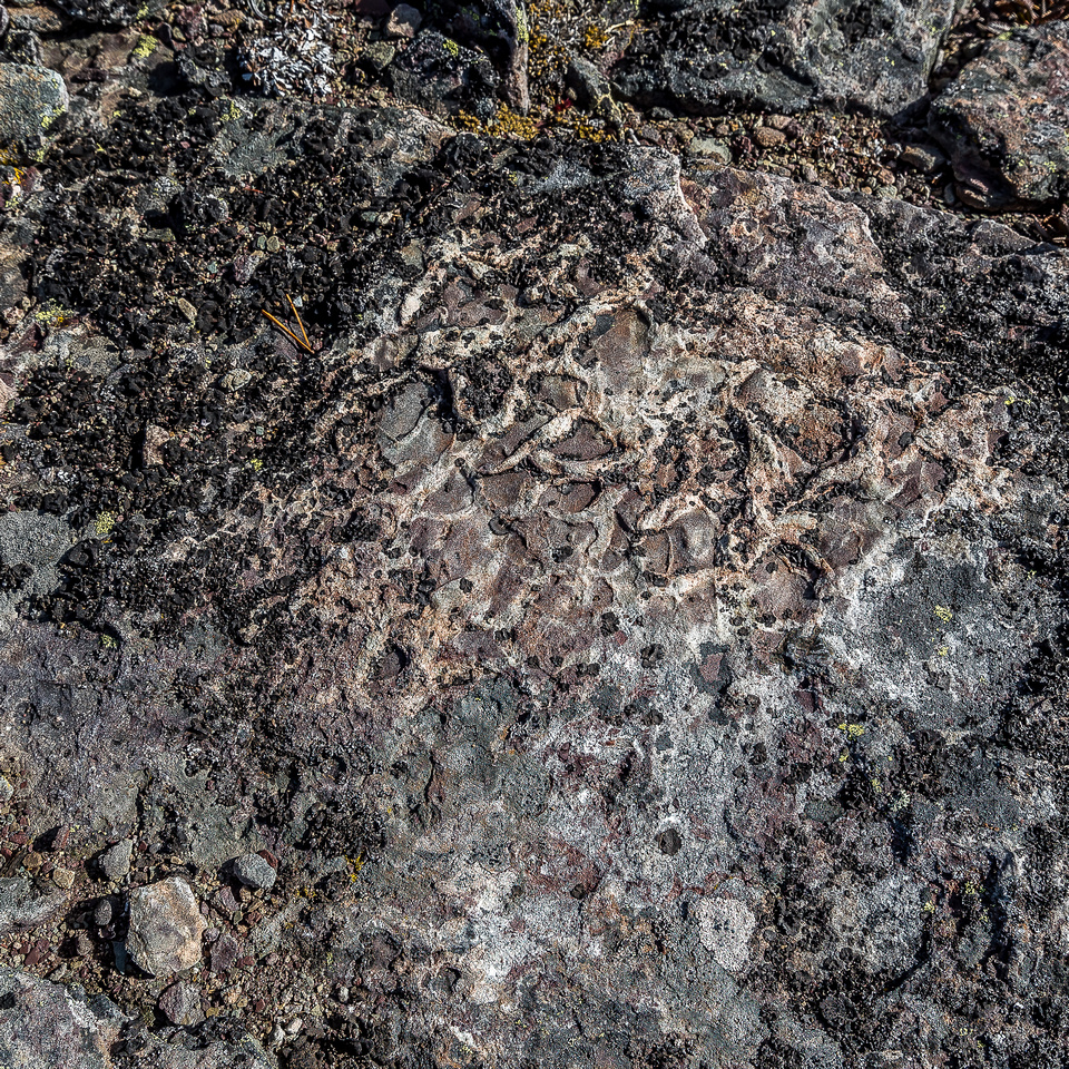 Interesting rock patterns and colors are what make the Castle Wilderness such a great area to hike and scramble.