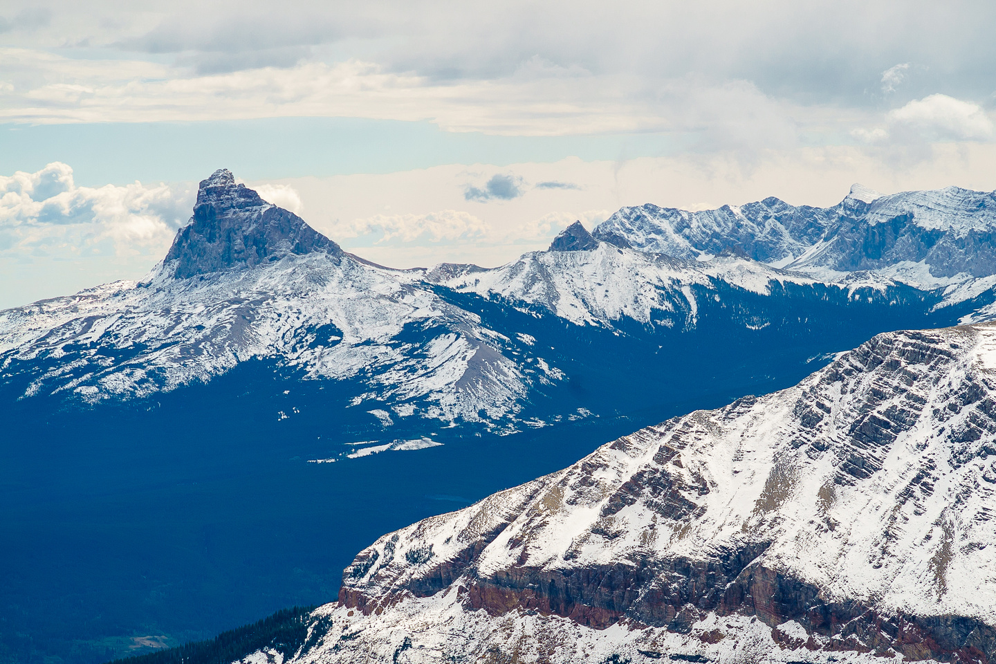 Chief Mountain is on most Alberta scrambler's lists - mine included.