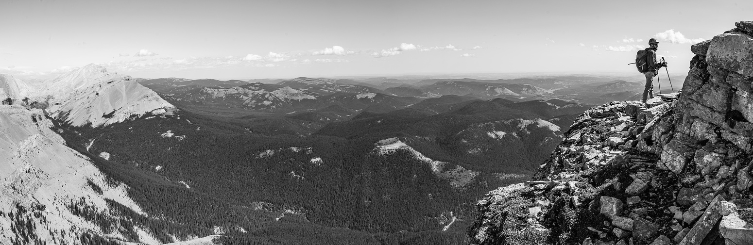 More great views off the ridge.