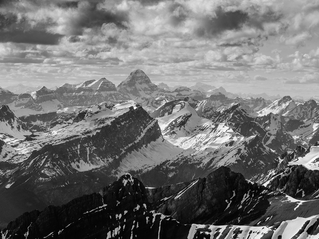 Mount Assiniboine is 168m higher than Joffre.