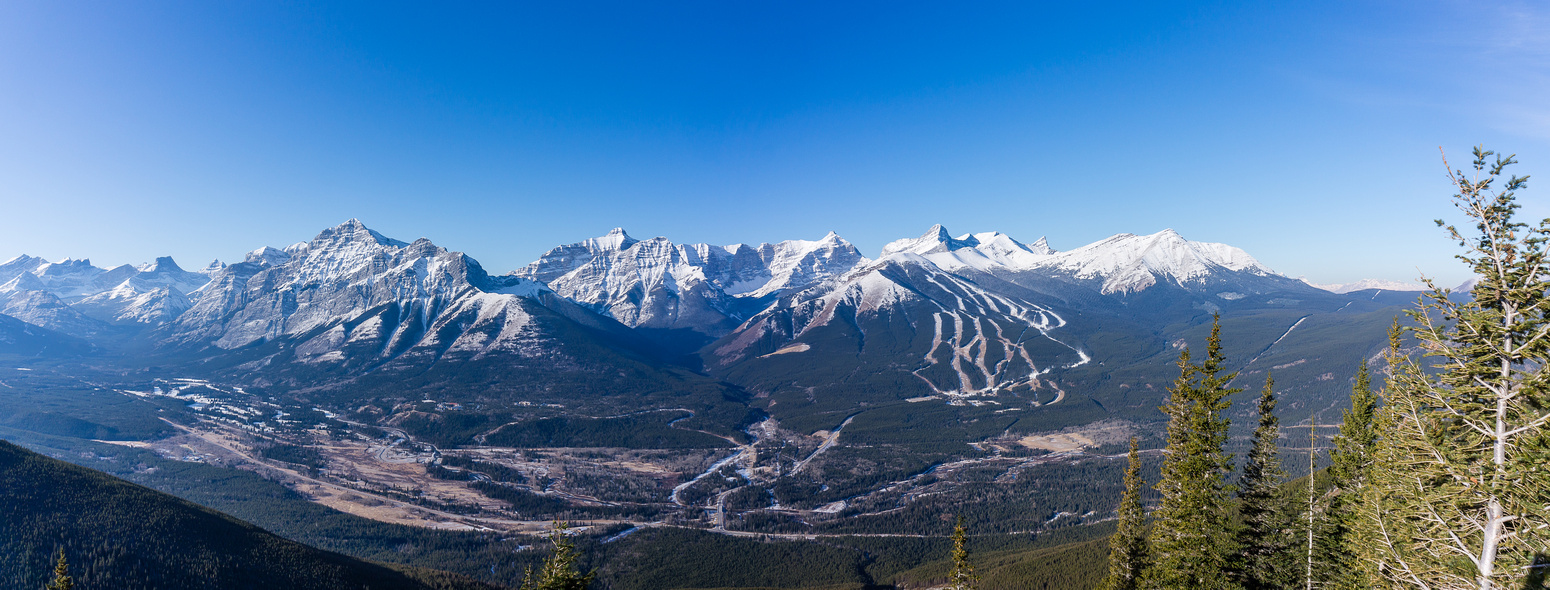 Hard to believe that Nakiska is open for the season. Grass skiing anyone? :-)